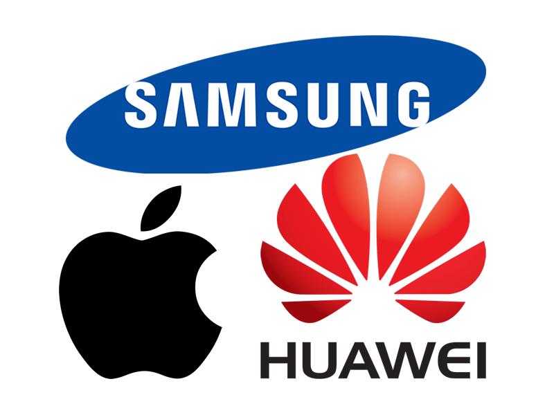 ผลการค้นหารูปภาพสำหรับ Samsung Huawei และ Apple