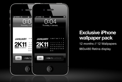 4 Exclusive IPhone Wallpaper Pack