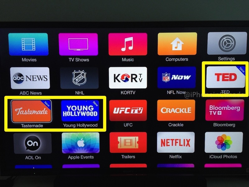 how to delete apps on apple tv 4k