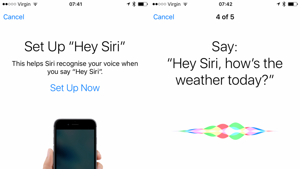Hey Siri สำหรับ iPhone 6s จะเป็นรูปแบบใหม่ จดจำเสียงเจ้าของ