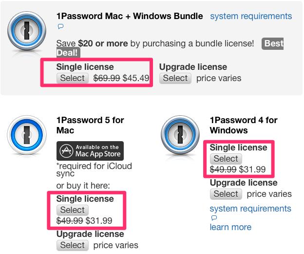 1password-sale