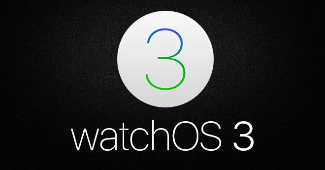 Apple ปล่อยเฟิร์มแวร์ watchOS 3 สำหรับ Apple Watch Series ...