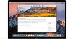 macOS High Sierra Public beta 1