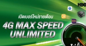 4G Max Speed Unlimited