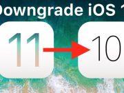 ดาวน์เกรด iOS 11