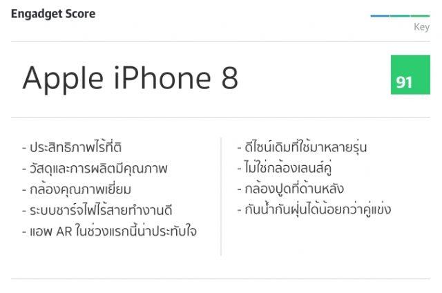 รีวิว iPhone 8