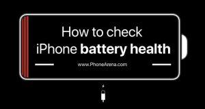 เช็คแบตเตอรี่ไอโฟน